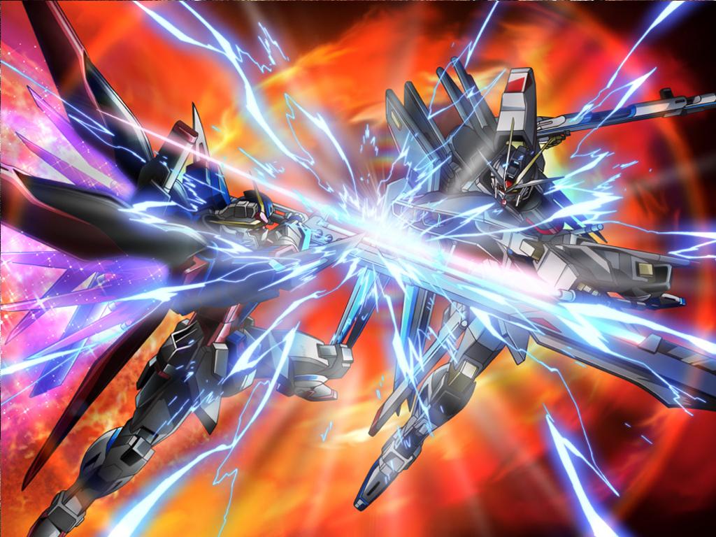 ガンダムseed Destiny 情報局 Net ストライクフリーダム Vs デスティニー 画像2